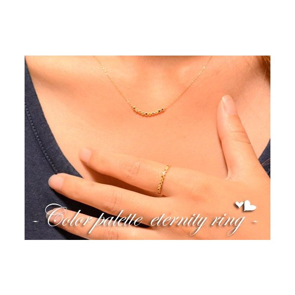 18k アミュレット リング ピンキーリング 指輪 レディース イエローゴールドk18  誕生石 クラシカル ミルウチ 母の日プレゼント
