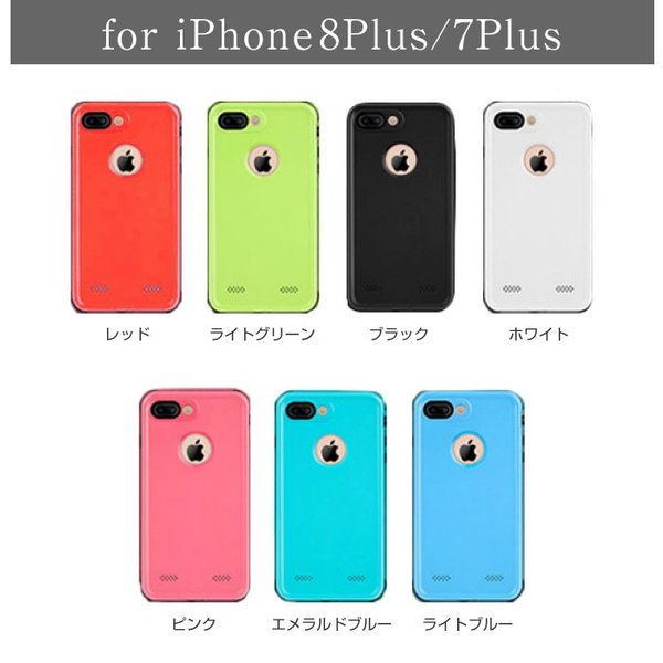 iPhone8 ケース 防水 防塵 耐衝撃  iPhoneXR iPhoneXS Max iPhoneSE iPhone6 iPhone7 Plus 8Plus 指紋認証|cincshop|12