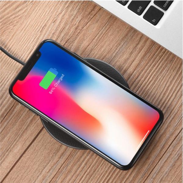 ワイヤレス充電器 Qi iPhone8 iPhoneX 対応  置くだけ充電 ワイヤレスチャージャー 充電器 スマホ レビューを書いて追跡なしメール便送料無料可 cincshop 15
