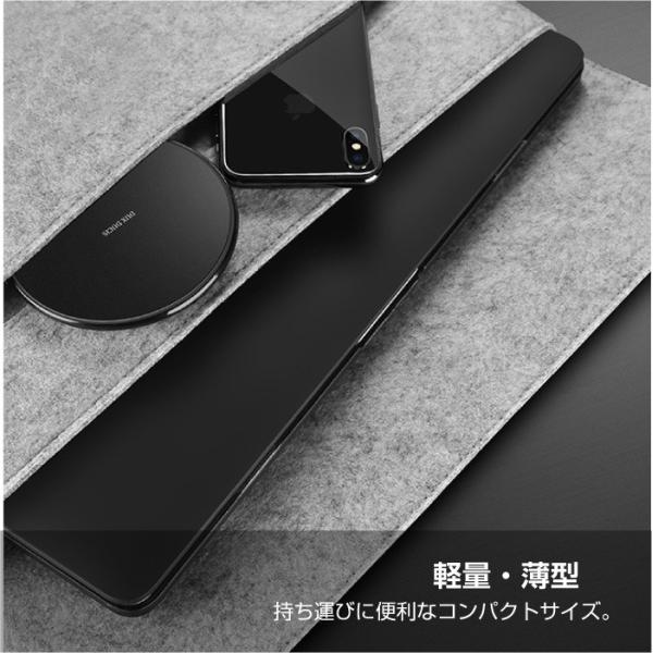 ワイヤレス充電器 Qi iPhone8 iPhoneX 対応  置くだけ充電 ワイヤレスチャージャー 充電器 スマホ レビューを書いて追跡なしメール便送料無料可 cincshop 05