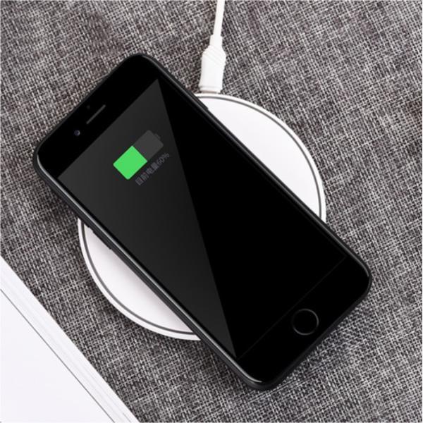 ワイヤレス充電器 Qi iPhone8 iPhoneX 対応  置くだけ充電 ワイヤレスチャージャー 充電器 スマホ レビューを書いて追跡なしメール便送料無料可 cincshop 09