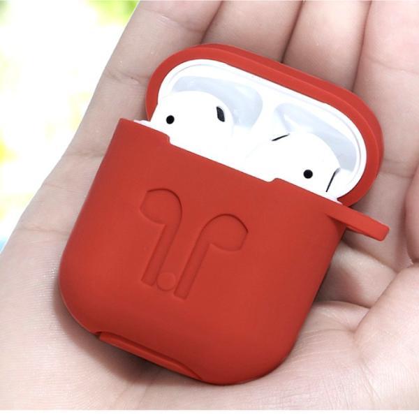 AirPods case  アップル イヤホン カバー 衝撃吸収 イヤホンケース カバー ケース アクセサリー レビューを書いて追跡なしメール便送料無料可|cincshop|02