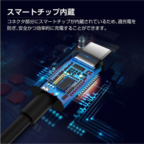 【hoco X23】TypeC-TypeC ケーブル 最大3A 急速充電 データ転送 PD Galaxy S8 / S8+ レビューを書いて追跡なしメール便送料無料可|cincshop|06