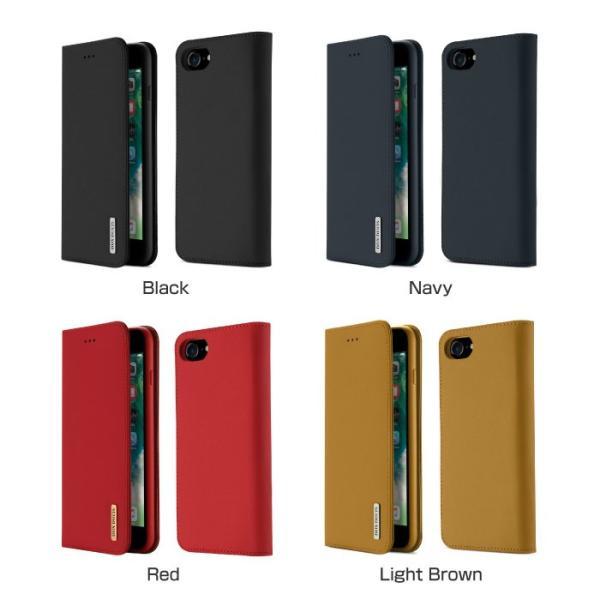 iPhoneX iPhone8 ケース 手帳型ケース 本革 牛革 レザー ベルトなし スタンド カードポケット レビューを書いて追跡なしメール便送料無料可|cincshop|13
