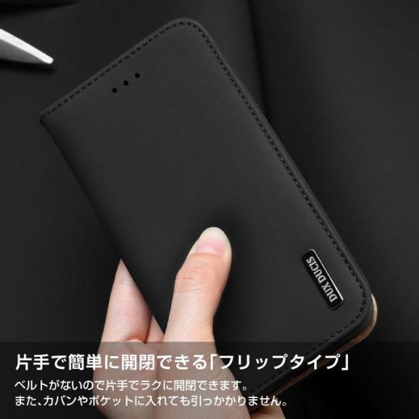 iPhoneX iPhone8 ケース 手帳型ケース 本革 牛革 レザー ベルトなし スタンド カードポケット レビューを書いて追跡なしメール便送料無料可|cincshop|04