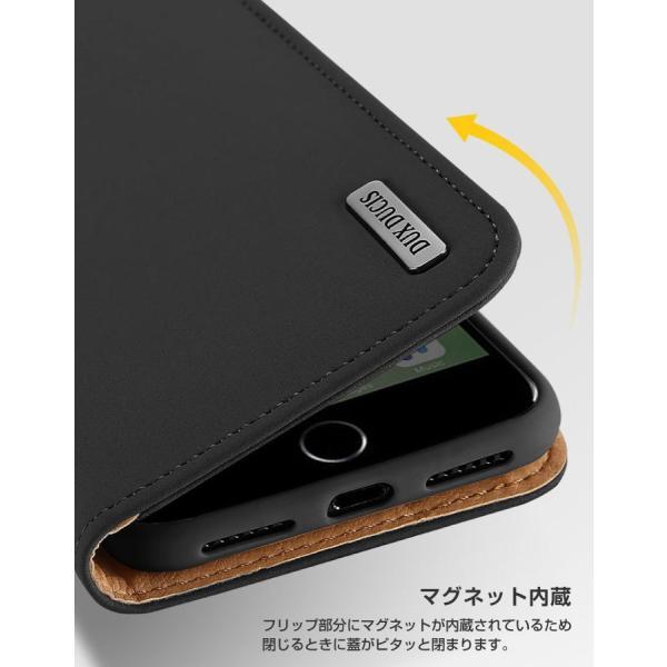 iPhoneX iPhone8 ケース 手帳型ケース 本革 牛革 レザー ベルトなし スタンド カードポケット レビューを書いて追跡なしメール便送料無料可|cincshop|05