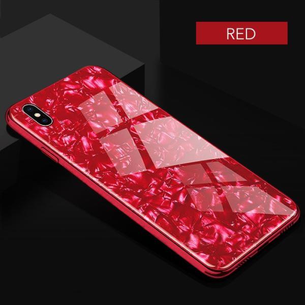 iPhone ケース iPhone8 iPhone7 plus iPhoneXR iPhoneXS Max 背面ガラス クリスタル シェル 風 レビューを書いて追跡なしメール便送料無料可|cincshop|11