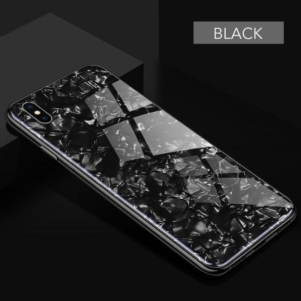iPhone ケース iPhone8 iPhone7 plus iPhoneXR iPhoneXS Max 背面ガラス クリスタル シェル 風 レビューを書いて追跡なしメール便送料無料可|cincshop|13