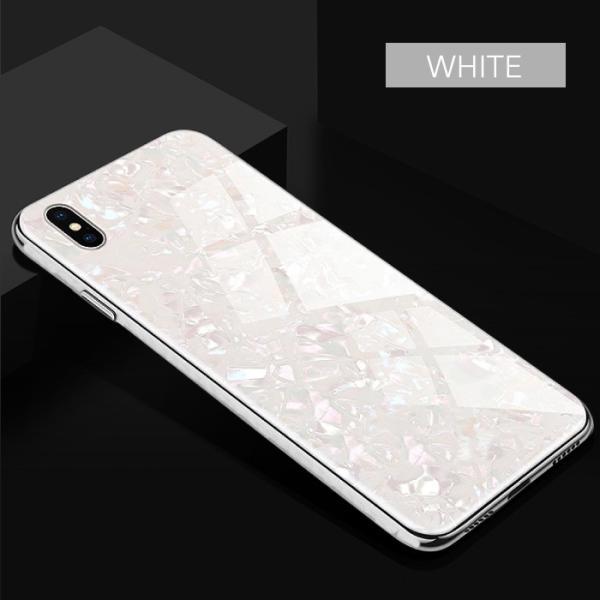 iPhone ケース iPhone8 iPhone7 plus iPhoneXR iPhoneXS Max 背面ガラス クリスタル シェル 風 レビューを書いて追跡なしメール便送料無料可|cincshop|14