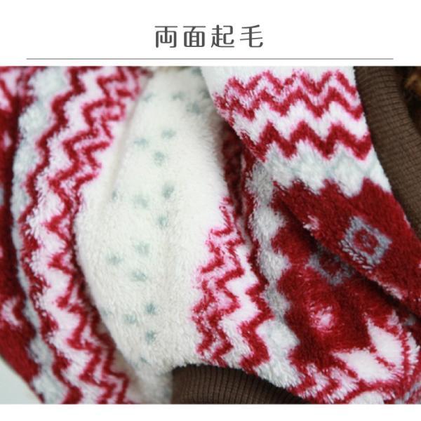 犬 パーカー ノルディック モコモコ ふわふわ 犬服 犬の服 ドッグウェア 秋 冬 安い 可愛い|cincshop|04