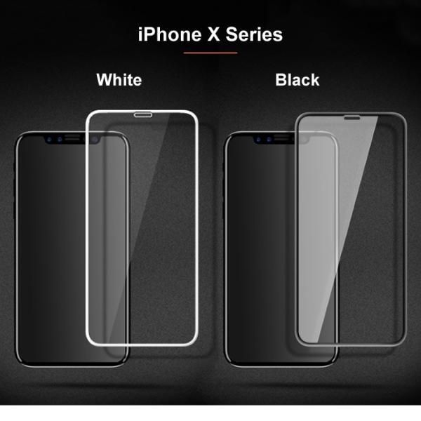 iPhone8 iPhoneXR iPhoneXS iPhone X 覗き見防止 全面保護 ガラスフィルム 3D ラウンドエッジ|cincshop|04