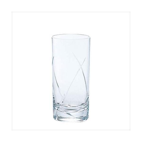 タンブラー10(6個セット) レジェンドL3カット グラスコップ 4393 アデリア 300ml 日本製 コリンズグラス