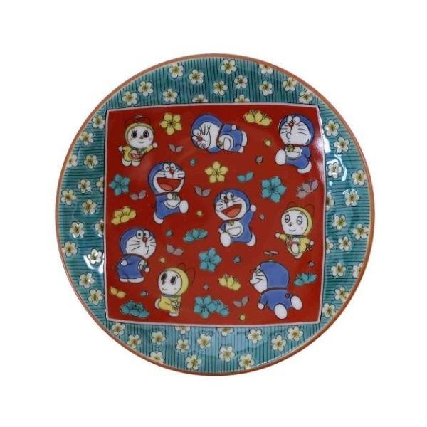 小皿 ドラえもん 九谷焼 時代画風 木米風/梅花 和食器