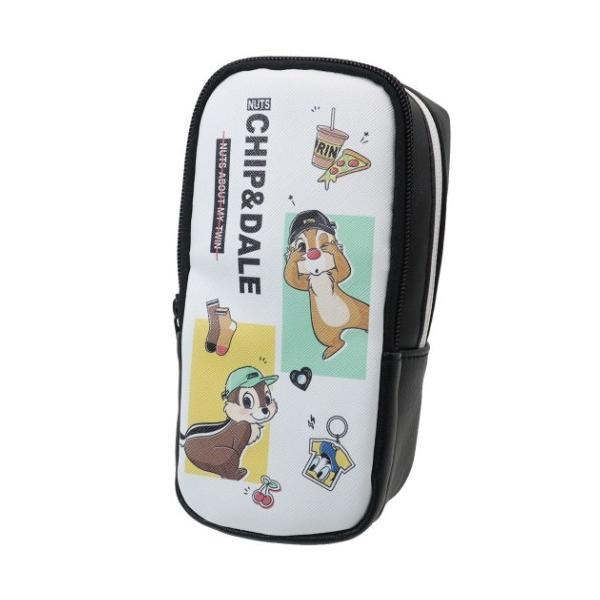 チップ&デール 筆箱 スタンド ペンケース コーデ ディズニー クラックス ペンポーチ