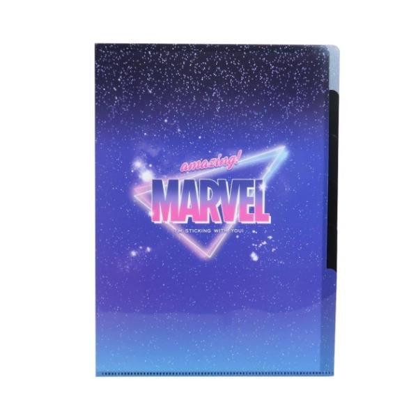 マーベル ポケットファイル 5インデックス A4 クリアファイル 2021SS MARVEL キャラクター