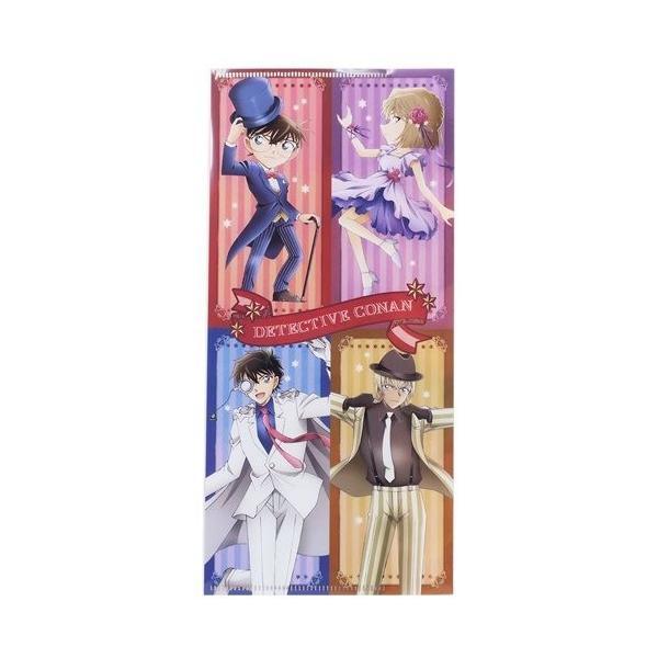 チケットホルダー 名探偵 コナン スリムファイル ダンス クラックス 10.5×22.6cm かわいい グッズ