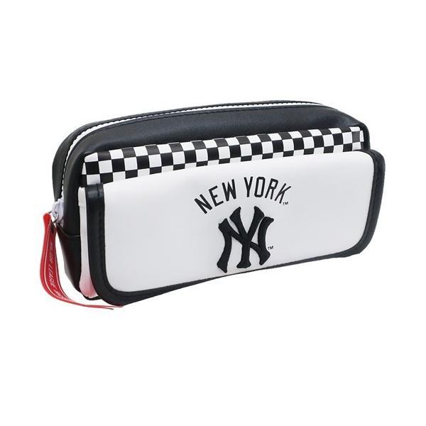001fffcc227c 筆箱 ニューヨークヤンキース MLB ペンポーチ メジャーリーグベースボール キャラクター グッズ クラックスの画像