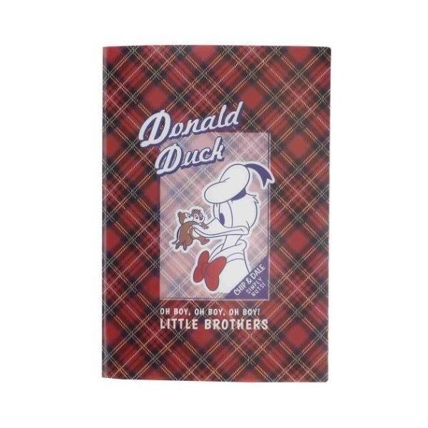 ドナルド & チップ&デール グッズ ミニファイル 10ポケット B6 ポケットファイル ディズニー キャラクター