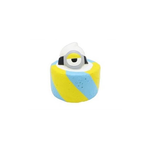 マスコット ミニオン スイーツ大作戦 スクイーズ エンスカイ ロールケーキ グッズ キーホルダー バッグチャーム キャラクター
