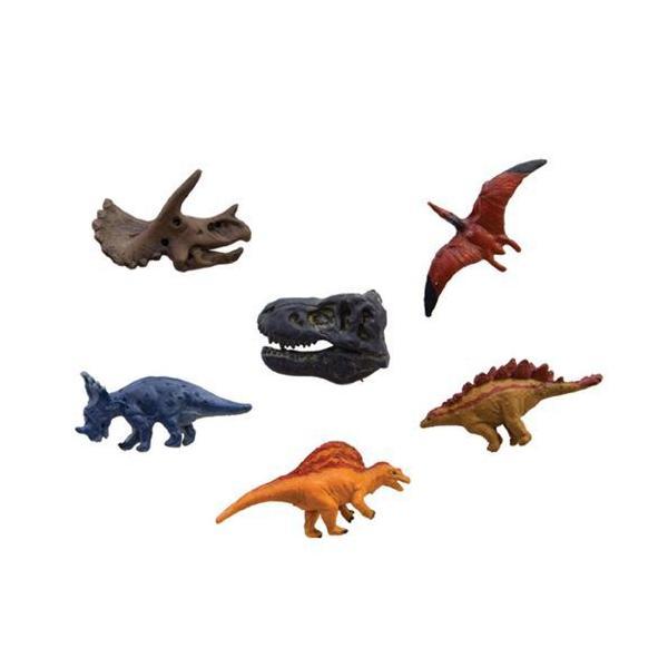 恐竜 Bセット ディノマグネット6個セット キッチン磁石