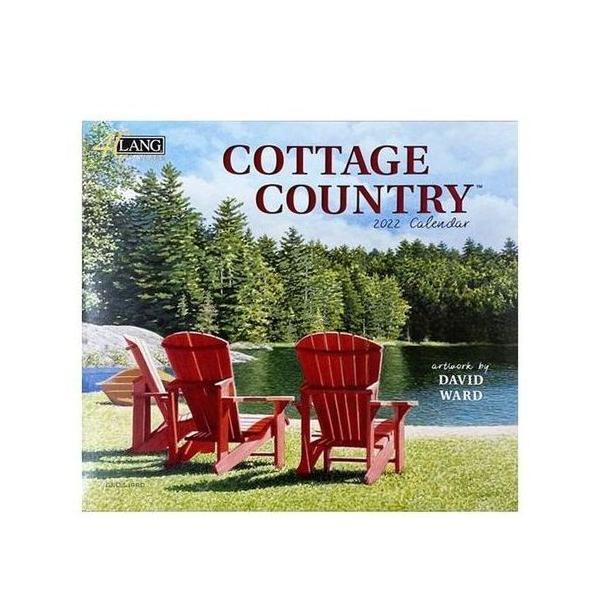 LANG 2022年 カレンダー 壁掛け Cottage Country David Ward ラング カントリー 風景
