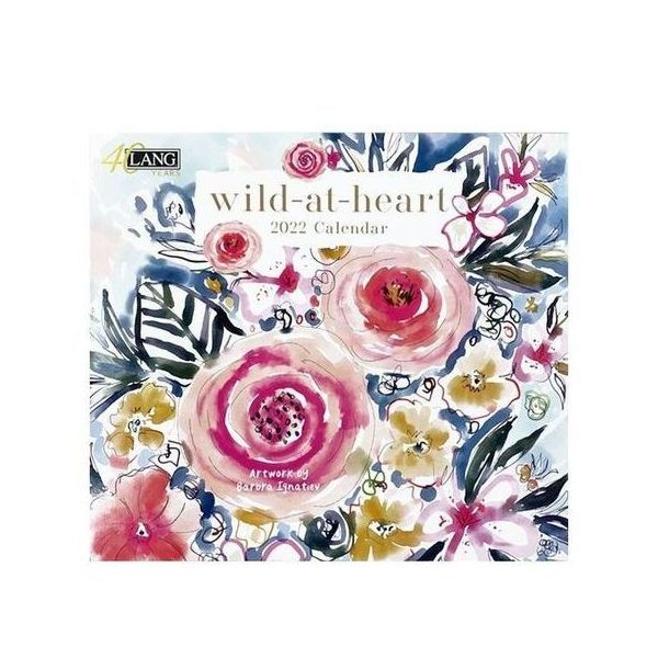 LANG Wild At Heart Barbara Lgnatiev インテリア 2022年 カレンダー 壁掛け ラング