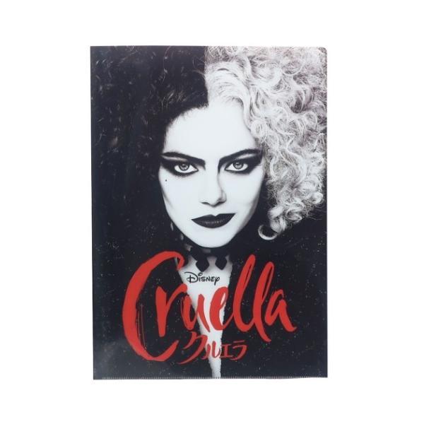 Cruella クルエラ ファイル クリアファイル A4 Wポケット ディズニー キャラクター