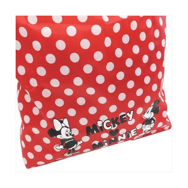 ハート ミッキー&ミニー ディズニー お買い物かばん エコバッグ キャラクター グッズ アートウエルド 34×42.5cm 折りたたみ ショッピングバッグ