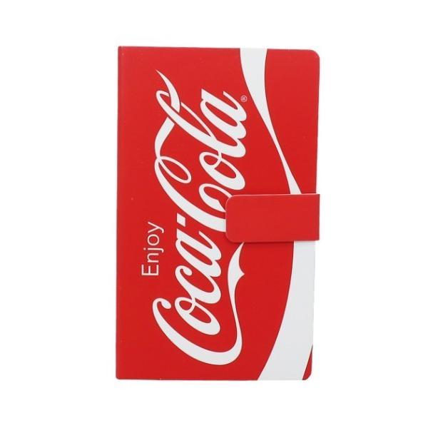 コカコーラ スマホカバー メモ メモ帳 ロゴ CocaCola グッズ キャラクター