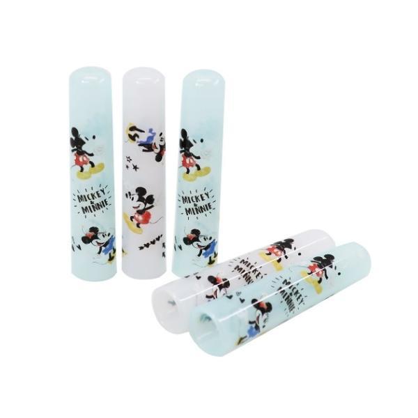 ミッキー&ミニー キャラクター 鉛筆キャップ えんぴつカバー 5本セット ディズニー グッズ