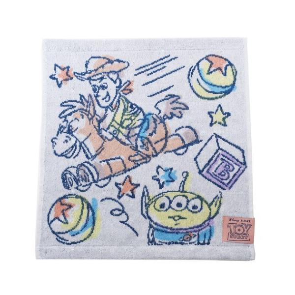 ハンドタオル トイストーリー ジャガード ウォッシュタオル ディズニー ファンタジートイ 34×36cm プチギフト キャラクター