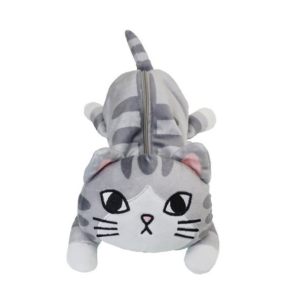筆箱 サバトラ ねこグッズ ギフト雑貨 フェリシモ 猫部 キャラクター グッズ ナカジマコーポレーション ペンポーチ