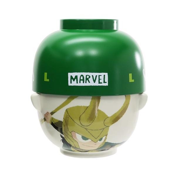 ご飯セット MARVEL × GuriHiru 汁椀 茶碗 セット 大 マーベル グッズ ロキ キャラクター プレゼント 新生活雑貨
