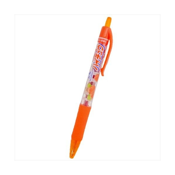 カラーボールペン おやつマーケット レッド おもしろ雑貨 ハイチュウ ストロベリー サカモト ストロベリーの香り 文具 グッズ