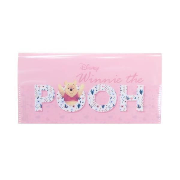 くまのプーさん 12ポケット チケットファイル ミニファイル ピンク ディズニー