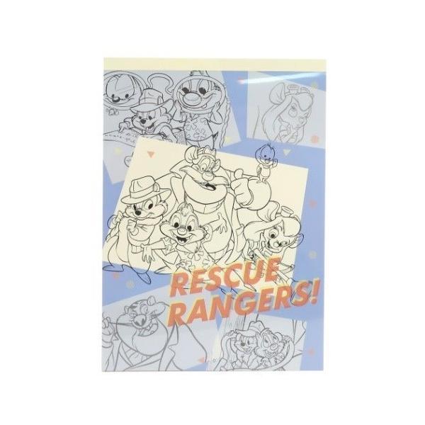 メモ帳 チップ&デール A6 メモ ディズニー レスキューレンジャー 1C かわいい キャラクター
