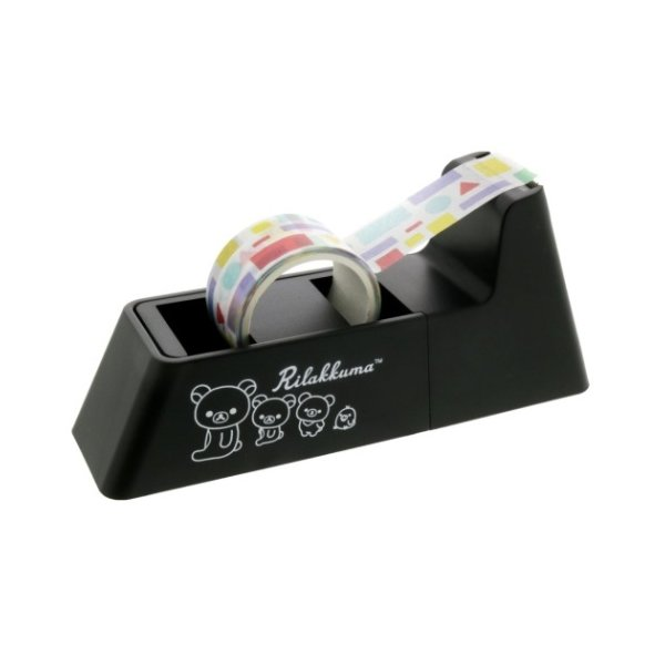 リラックマ LaCut ラカット 強力マグネット付き テープカッター サンエックス サンスター文具 機能性文具