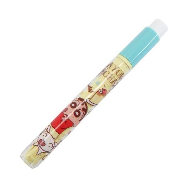 クレヨンしんちゃん グッズ 消しゴム付き 鉛筆補助軸 筆記用具 スイーツ ティーズファクトリー