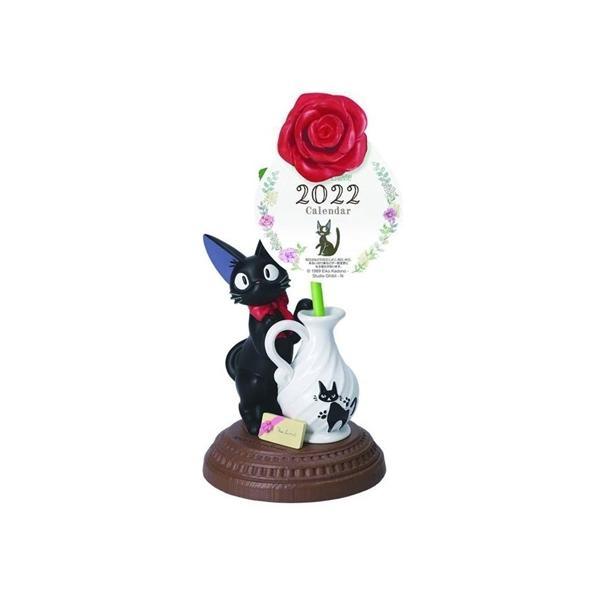 魔女の宅急便 壁掛けカレンダー2019年 2022年 カレンダー 一輪のバラ スタジオジブリ キャラクター 令和4年暦