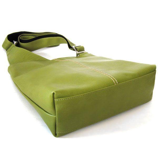 日本製 レディースバッグ 本革 クロスボディーショルダーバッグ BIENCO グラスグリーン