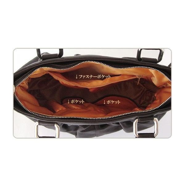 154cd1b5c204 ... レディースショルダーバッグ 上質な本革 フランス製カーフ革バッグ ギャザー入りショルダーバッグ