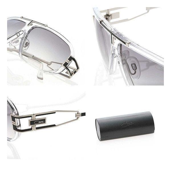 CAZAL Sunglasses C8811 Clear/Silver カザール サングラス 8811 クリア/シルバー|cio|03