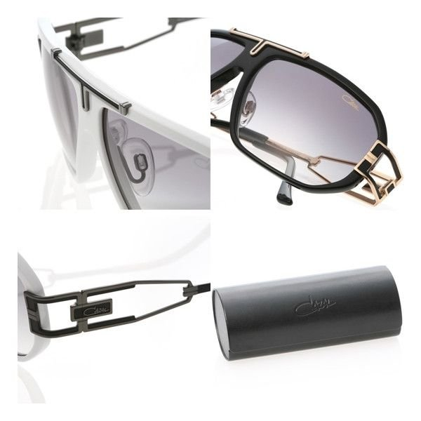 CAZAL Sunglasses 8811 Black&White&Brown カザール サングラス 8811 ブラック/ ゴールド & ホワイト/ブラック & ブラウン/ゴールド cio 03