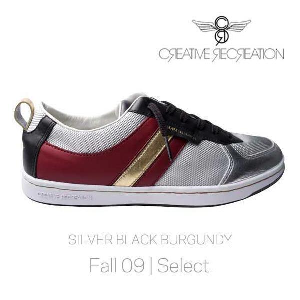 【SALE】クリエイティブ レクリエーション ディココ ロー セレクト シルバー/ブラック Creative Recreation DICOCO LO Select Silver Black Burgundy|cio