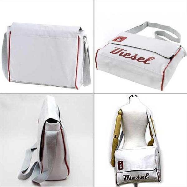 ディーゼル ショルダーバッグ 00XT63 ホワイト レッド DIESEL Shoulder Bag 00XT63 White Red|cio|02