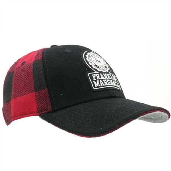 フランクリンアンドマーシャル ブロック チェック キャップ 1008036 レッド チェック FRANKLIN&MARSHALL BLOCK CHECK CAP 1008036 RED CHECK cio 02