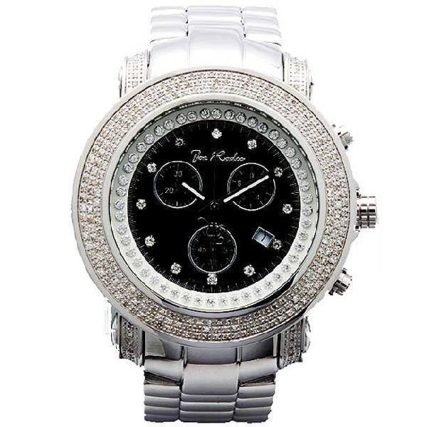 ジョーロデオ ジュニア クロノグラフ ダイアモンド ウォッチ JJU6 ブラック Joe Rodeo Junior Chronograph Diamond Watch JJU6|cio