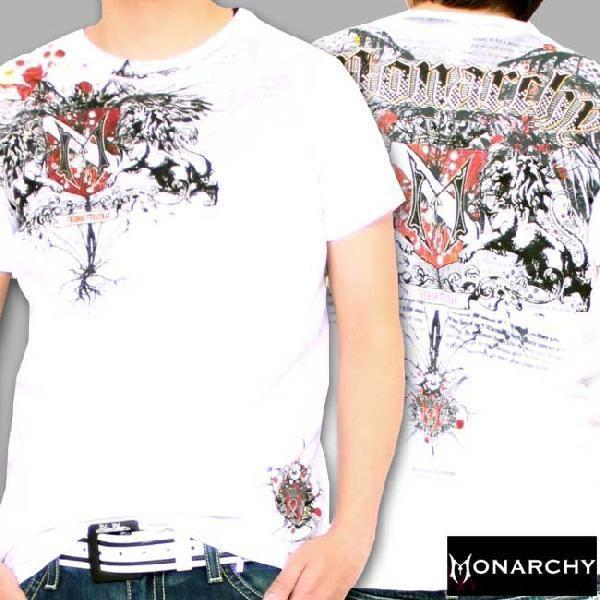 【SALE】モナーキー S/S Tシャツ フリー スピリット クルー ホワイト MONARCHY SS TEE FREE SPIRIT CREW White cio