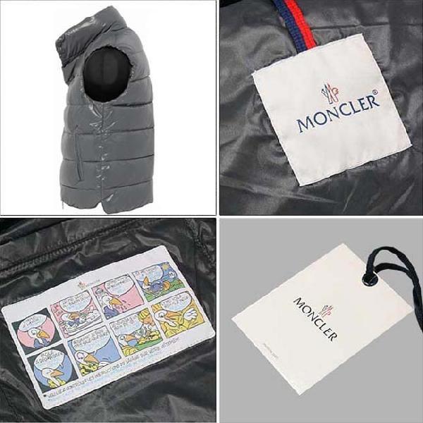 モンクレール ダウンベスト(ヴェスト) チブ シャイニー グレー 921 2010-2011AW MONCLER Down Vest TIB Shiny Gray (Grey) 921 2010-2011AW|cio|04