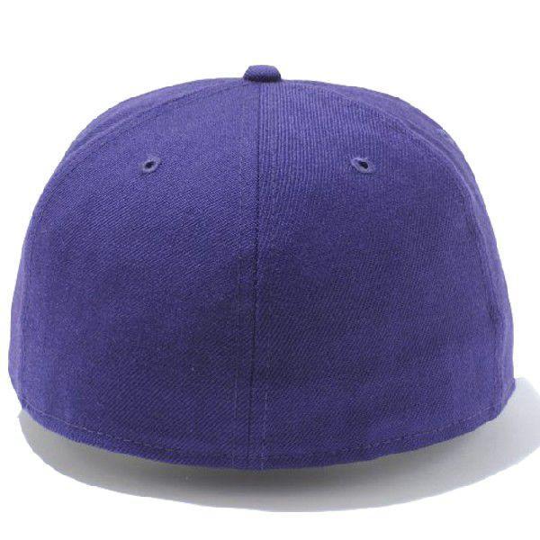 ニューエラ 5950キャップ プレーン ベーシック パープル New Era 59Fifty Cap Plain Basic Purple cio 02